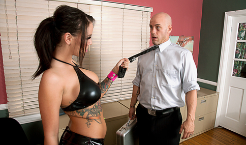 Derrick Pierce & Emily Parker in American Daydreams - Naughty America - Sex Position #4
