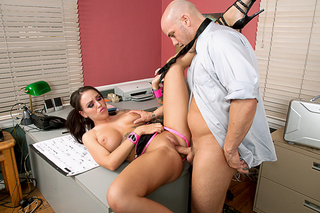 Derrick Pierce & Emily Parker in American Daydreams - Naughty America - Sex Position #6