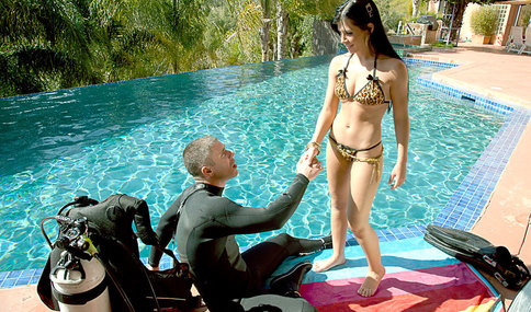 Mick Blue & Rebeca Linares in American Daydreams - Naughty America - Sex Position #1