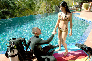 Mick Blue & Rebeca Linares in American Daydreams - Naughty America - Sex Position #2