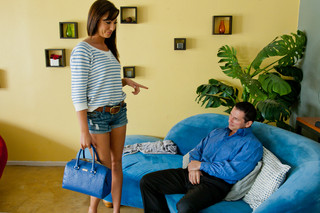 Tiffany Brookes & John Strong  in College Sugar Babes - Naughty America - Sex Position #2