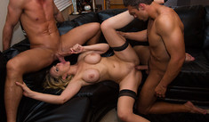 Julia Ann  & Bill Bailey Rocco Reed  in Dirty Wives Club - Dirty Wives Club - Sex Position #2