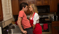 Nicole Aniston  & Xander Corvus in Dirty Wives Club - Naughty America - Sex Position #1