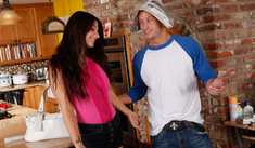 Karina White & Bill Bailey in Fast Times - Naughty America - Sex Position #1