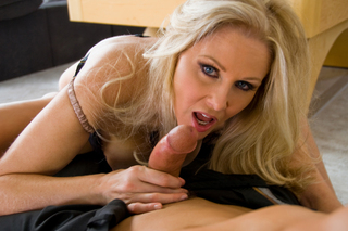 Julia Ann & Tony DeSergio in Housewife 1 on 1 - Naughty America - Sex Position #6