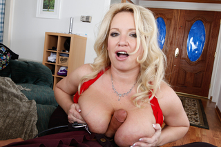 Sexy MILF Rachel Love fucks her husband from Naughty America