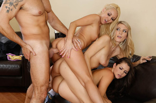 Tenant's Four-Way Pussy Payback