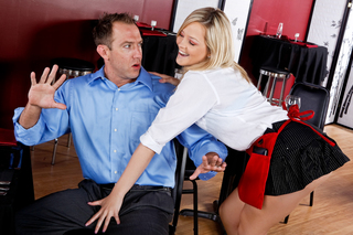 Alexis Texas is a naughty waitress from Naughty America