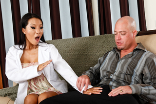 Asa Akira & Jenner in I Have a Wife - Naughty America - Sex Position #1