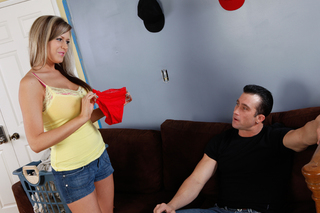 Darcy Tyler & Billy Glide in I have a Wife - Naughty America - Sex Position #3