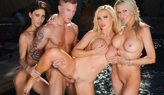 Emma Starr, Jessica Jaymes & Nikki Benz – I Have a Wife