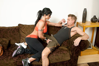 Bill Bailey & Jewels Jade in I Have a Wife - Naughty America - Sex Position #2