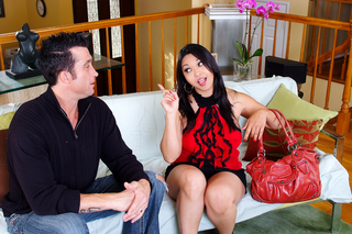 Billy Glide & Mika Tan in I Have a Wife - Naughty America - Sex Position #1