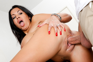 Denis Marti & Sienna West in Latin Adultery - Naughty America - Sex Position #7