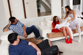 Celeste Star, Gracie Glam &  in Naughty Americans - Naughty America - Sex Position #1
