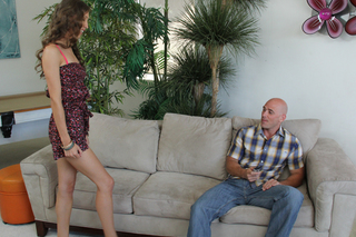 Aiyana Flora & Johnny Sins in My Dad's Hot Girlfriend - Naughty America - Sex Position #1