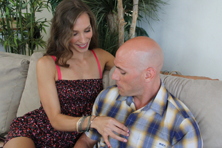 Aiyana Flora & Johnny Sins in My Dad's Hot Girlfriend - Naughty America - Sex Position #2
