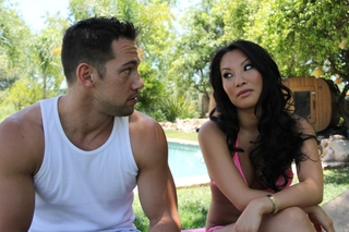 Asa Akira & Johnny Castle in My Dad's Hot Girlfriend - Naughty America - Sex Position #1