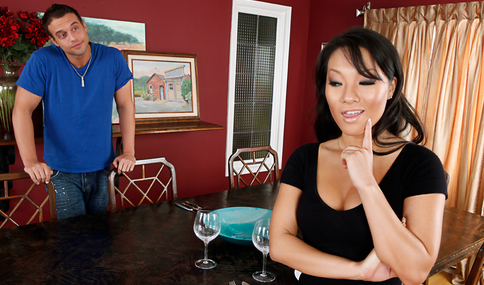 Asa Akira & Rocco Reed in My Dad's Hot Girlfriend - Naughty America - Sex Position #4