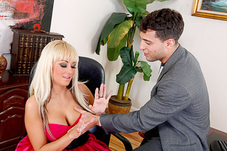 Briana Blair & Mikey Butders in My Dad's Hot Girlfriend - Naughty America - Sex Position #1