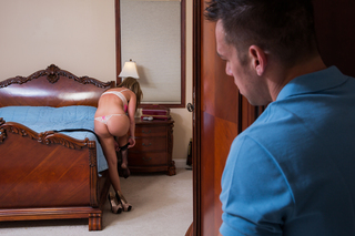 Brianna Brooks & Johnny Castle in My Dad's Hot Girlfriend - Naughty America - Sex Position #1