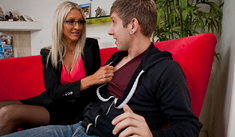 Emma Starr & Danny Wylde in My Dad's Hot Girlfriend - Naughty America - Sex Position #1