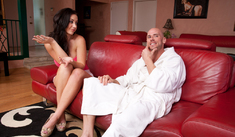 Jayden Jaymes & Johnny Sins in My Dad's Hot Girlfriend - Naughty America - Sex Position #1
