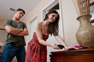 Lily Carter & Bruce Venture in My Dad's Hot Girlfriend - Naughty America - Sex Position #2