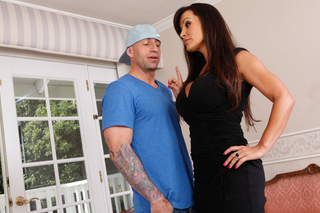 Lisa Ann sucks dick and gets fucked hard from Naughty America