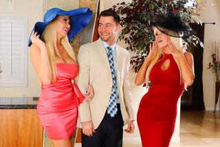 Nikita Von James, Summer Brielle & Seth Gamble in My Dad's Hot Girlfriend - My Dad's Hot Girlfriend - Sex Position #1
