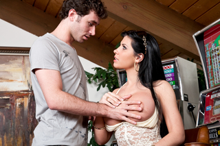 James Deen & Rebeca Linares in My Dad's Hot Girlfriend - Naughty America - Sex Position #2