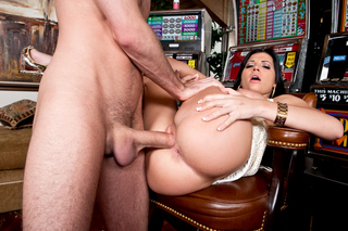 James Deen & Rebeca Linares in My Dad's Hot Girlfriend - Naughty America - Sex Position #5