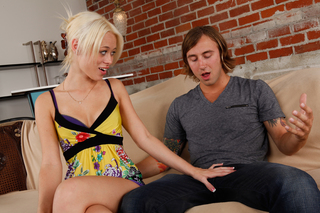 Rebecca Blue gets some cock from Naughty America