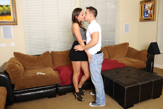 Rilynn Rae & Johnny Castle in My Dad's Hot Girlfriend - Naughty America - Sex Position #3