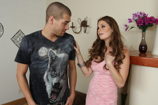 Allison Moore & Xander Corvus in My Friend's Hot Got - Naughty America - Sex Position #1