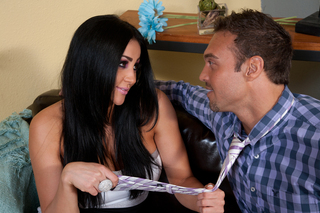 Audrey Bitoni & Rocco Reed in My Friend's Hot Got - Naughty America - Sex Position #2