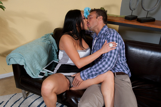Audrey Bitoni & Rocco Reed in My Friend's Hot Got - Naughty America - Sex Position #3