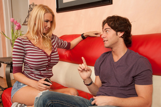 Blake Rose & Seth Gamble in My Friend's Hot Got - Naughty America - Sex Position #2