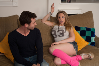 Kagney Linn Karter & James Deen in My Friend's Hot Got - Naughty America - Sex Position #2