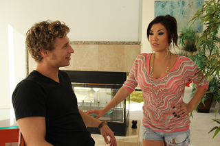 London Keyes & Michael Vegas in My Friend's Hot Got - Naughty America - Sex Position #1