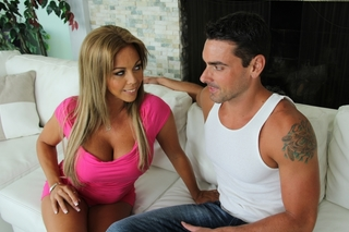Amber Lynn Bach & Ryan Driller in My Friend's Hot Mom - Naughty America - Sex Position #2