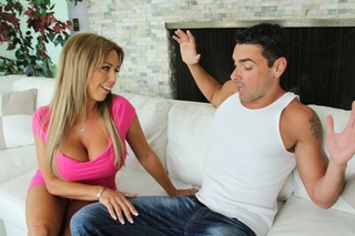 Amber Lynn Bach & Ryan Driller in My Friend's Hot Mom - Naughty America - Sex Position #3