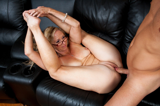 Annabelle Brady & Michael Vegas in My Friend's Hot Mom - Naughty America - Sex Position #6