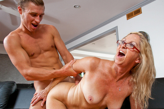 Annabelle Brady & Michael Vegas in My Friend's Hot Mom - Naughty America - Sex Position #13