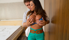 Ariella Ferrera & Danny Wylde in My Friend's Hot Mom - Naughty America - Sex Position #1