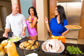 Ava Addams, Romi Rain & Johnny Sins in My Friend's Hot Mom - Naughty America - Sex Position #1