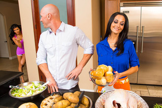 Ava Addams, Romi Rain & Johnny Sins in My Friend's Hot Mom - Naughty America - Sex Position #2