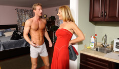 Brenda James & Ryan McLane in My Friend's Hot Mom - Naughty America - Sex Position #1
