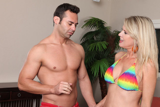 Bridgett Lee & Jack Cummings in My Friend's Hot Mom - Naughty America - Sex Position #14