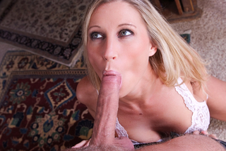 Hot mom Devon Lee sucks a mean cock from Naughty America